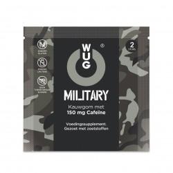 WUG Military 150mg cafeïne per kauwgom (2 gums)