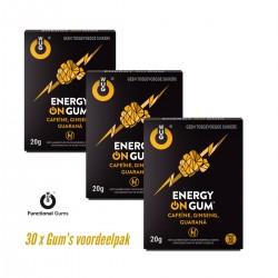 Energy ON voordeelpak ( 30 x gums )