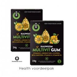 MULTIVIT HEALTH Voordeelpak ( 20 x gums )